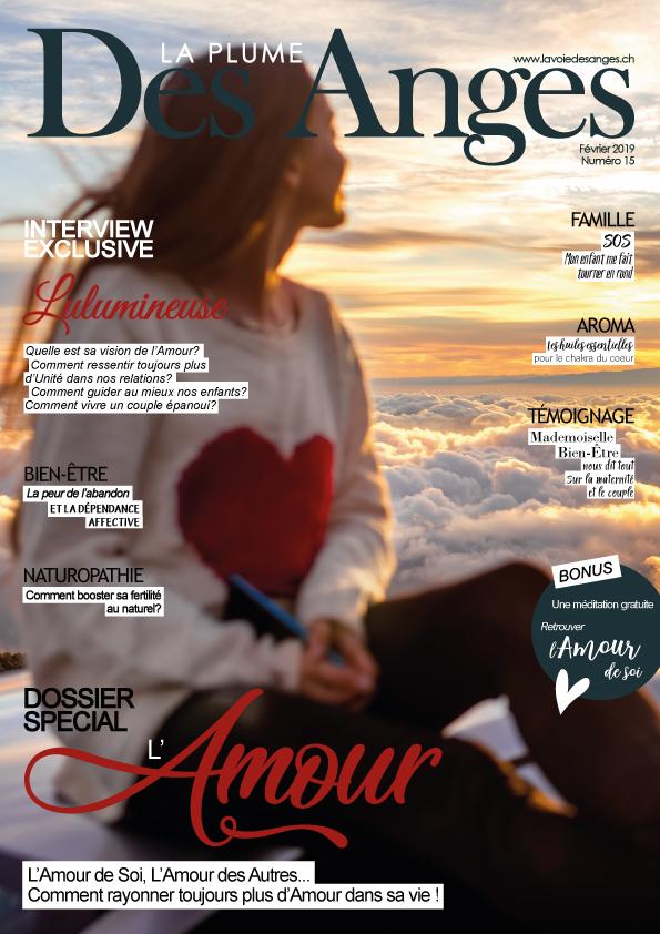 """Ce mois-ci Lulumineuse est dans le magazine """"La Plume des Anges"""""""