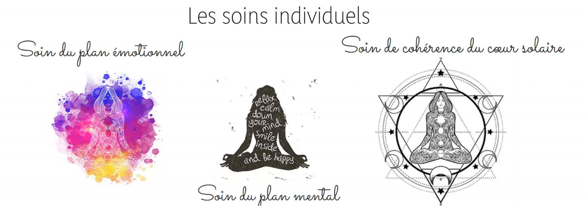 Les soins individuels