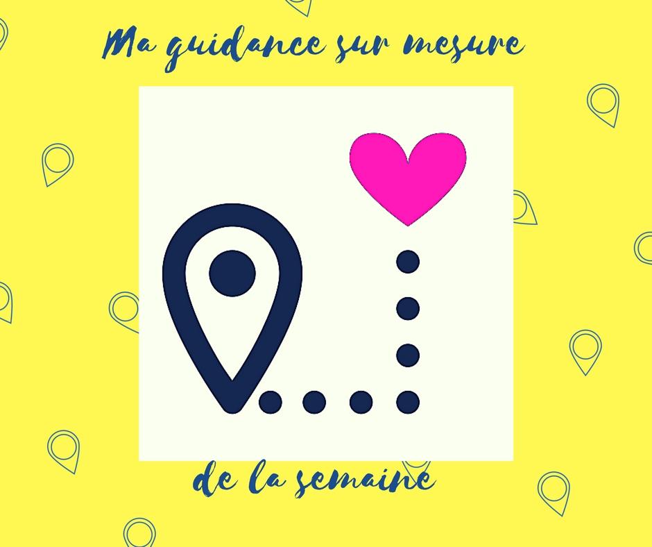 Une guidance sur mesure de ta semaine en 1 clic