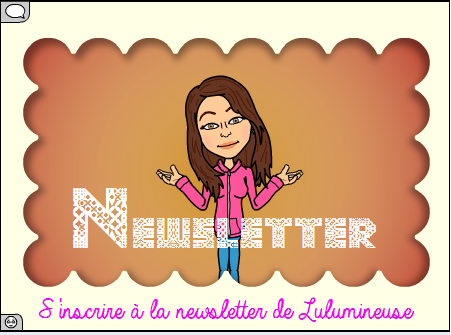 Je m'inscris à la Newsletter :)