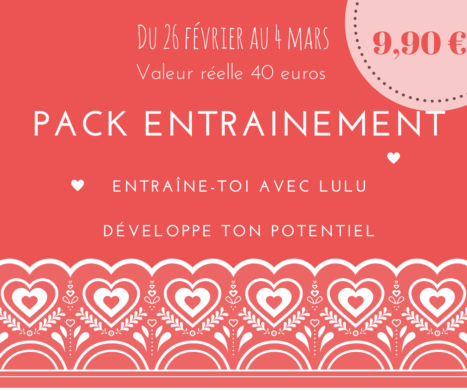Pack entrainement 1
